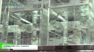 [BIO tech 2014] 小型魚類集合水槽システム「LABREED」 – 株式会社イワキ