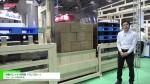 [JAPAN PACK 2017 ] 離職率の改善にも寄与する自動パレット交換機「パレスルー」 – オムニヨシダ株式会社