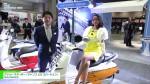 [第45回 東京モーターサイクルショー] プジョー スクーター「ジャンゴ 125 エバージョン」 – ADIVA株式会社